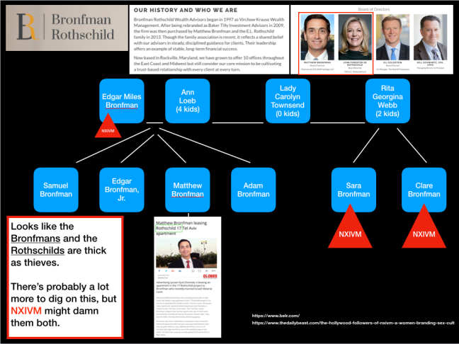 BRONFMAN ROTHSCHILD COURTESY ANON ANY AND ALL SEAGRAMS LIQUIDS DISCONTINUE